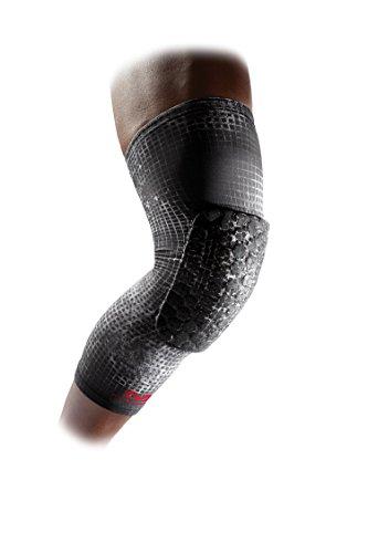McDavid teflx Gepolsterte Bein Ärmeln und Kompression, Paar, Damen, MGrid, Jugend (Volleyball-jugend-knee-pads)