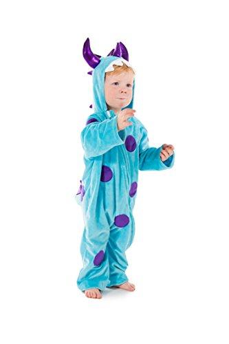 Blaue Kleine Kostüm Monster - Kleines blaues Monster - 2-3 Jahre