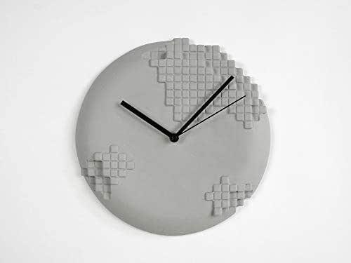 Pixel Orologio Da Parete - camera da letto accessori per la camera da letto orologi analogici decor-ations pixel