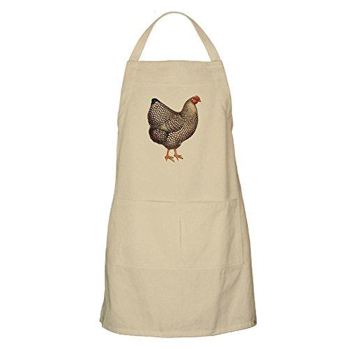 CafePress-Huhn Henne BBQ-Küche Schürze mit Taschen khaki Huhn, Küche