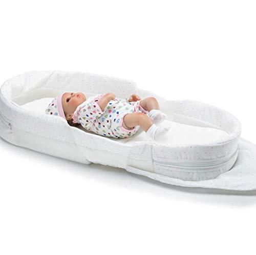 0-1 Jahre altes Neugeborenes Baby Tragbares Bett Bett Baby Multifunktions-Klapp-Anti-Druck-Bionic-Bett (Color : 1)