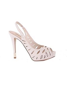GUESS Donna Scarpe col Tacco sandali con il cinturino Crema