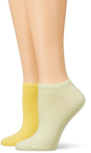 Tommy Hilfiger Damen Socken TH Women Sneaker 2P, 2er Pack, Mehrfarbig (Sunshine 524), 39/42