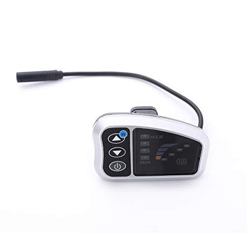 HANERIDE Tianneng LED4 Display für E-Bike Pedelec 36V 250W Motor Mifa Vaun Zündapp Bildschirm für die Geschwindigkeitssteuerung