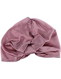 IPOTCH Gorro de Dormir 100% Seda Casquillo de Noche Sombrero de Sueño  Redecilla de Peluqueria 0a21b4057ff