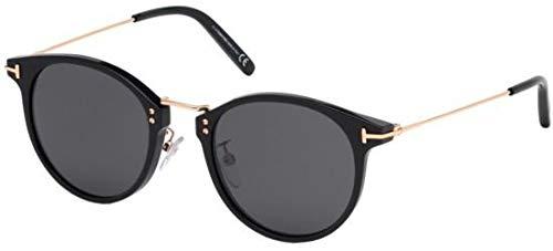 Tom Ford Sonnenbrillen Jamieson FT 0673 Black/Smoke Herrenbrillen