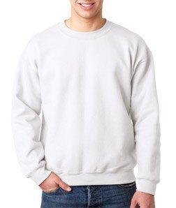Gildan Heavy Blend Pullover mit Rundausschnitt (M) (Weiß) M,Weiß