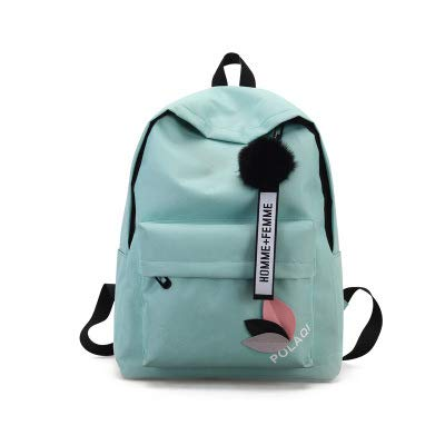 College Wind Sen Department Wilde einfache kleine frische Junior High School Student Tasche hellgrün