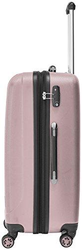 Packenger Velvet Koffer, Trolley, Hartschale  3er-Set in Mauve, Größe M, L und XL - 3
