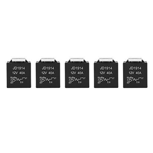 5 piezas Relé universal Pie ancho Adaptador inserción