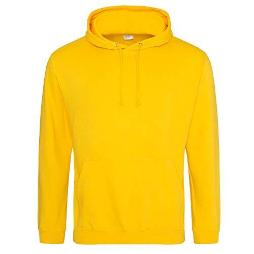 Minions Männer Kostüm - Just Hoods College Hoodie XXL,Gold