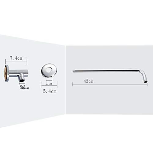 Duschkopf Hochdruck-Regenduschköpfe 12 '' Edelstahl Duschkopf poliert