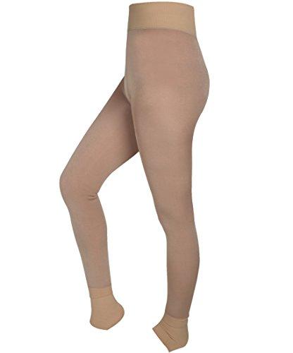 DODOING Damen Strumpfhose Winter Dicke Warme Fleece Futter Leggings Skinny Strech Pants (Suits Pant Damen Winter)