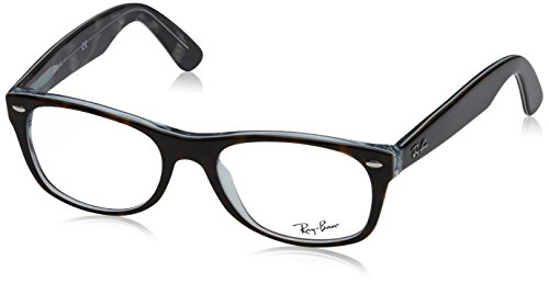 Ray-Ban Unisex-Erwachsene New Wayfarer Sonnenbrille, Marrón, 52