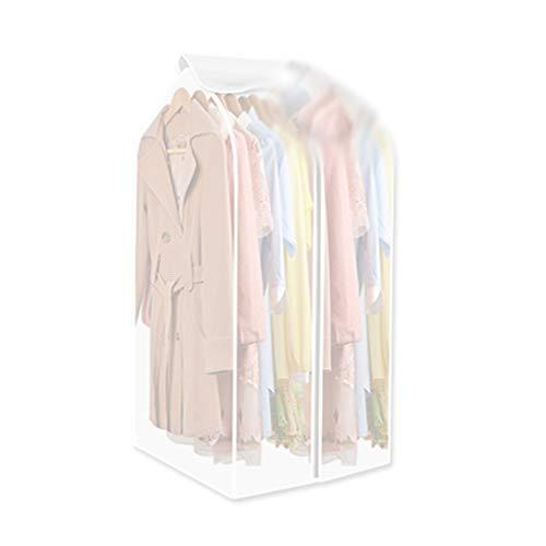 QFFL Sac de compression sous vide Housse anti-poussière, vêtements sac à poussière suspendu vêtements résistant à la poussière, épaississement ménage rides résistant à l'humidité 3 modèles Sac de prot