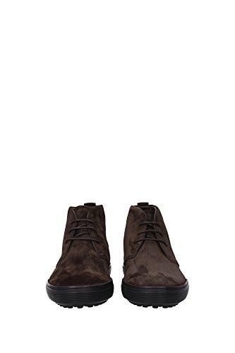 XXM0XF0N460RE0S800 Tod's Chaussure montante Homme Chamois Marron clair Marron Clair