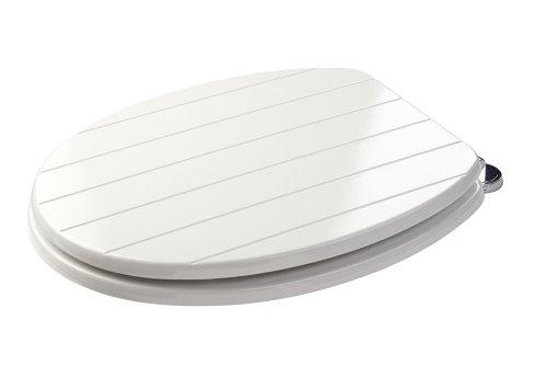 Croydex WL530822H - Asiento para inodoro, color blanco