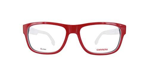 Carrera  CARRERA1102V Carrera Brillengestelle Carrera1102V-8Rr16-54 Herren Rechteckig  Brillengestelle 54, Rot