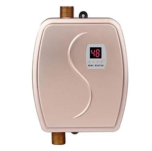 WG Sofortiger elektrischer Warmwasserbereiter Heißwasserhahn Küche Schnelle Heizung Thermostat Temperaturanzeige Heizung 110 V / 220 V,A