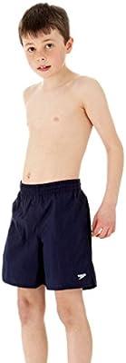 Speedo Boy's Solid - Bañador de natación para niño, color 859