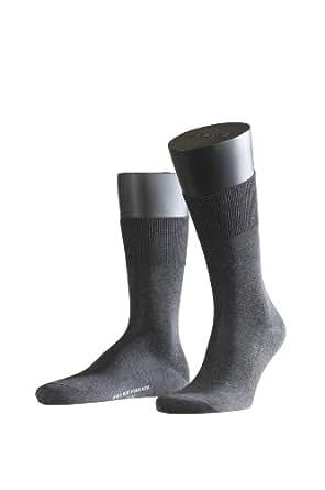 FALKE Herren Socken 14684 Firenze Business SO, Gr. 39/40, Grau (anthracite mel. 3190)