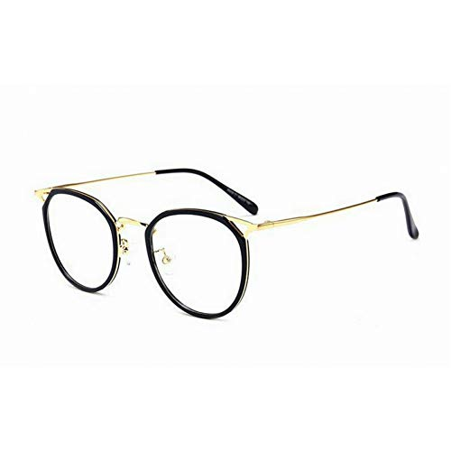 GBST multifocal Reading Glasses Frames Retro Men and Women Models Version of The Round Glasses Frames,A1