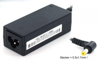 gehandelt 60226Innen Schwarz Adapter-Leistung & Wechselrichter–Adapter DE PUISSANCE & Wechselrichter (100–240, innen, Laptop, Aspire One A150, schwarz, 91mm)