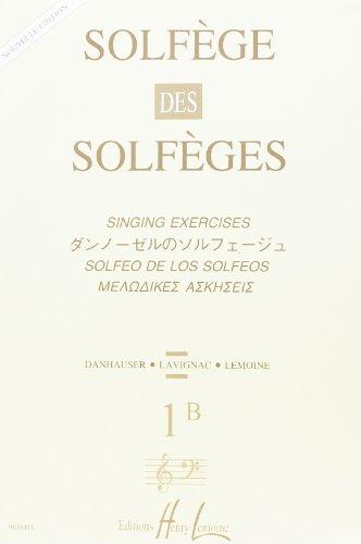 Solfège des Solfèges Volume IB sans accompagneme...