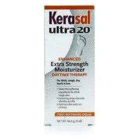 Special 1 Pack of 3 - Kerasal Ultra20 Extra Strength Foot Cream ALT85707400121 ALTERNA LLC by Med-Choice