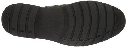 Tommy Hilfiger Herren C2285urtis 13a Kurzschaft Stiefel Schwarz (BLACK 990)