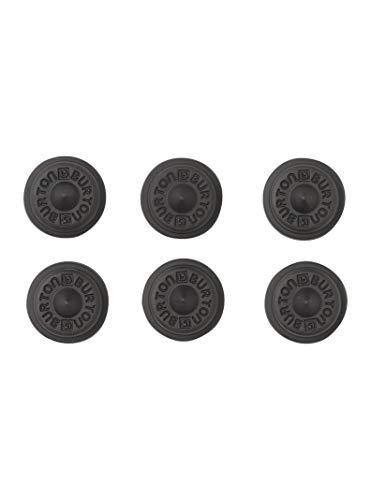 Burton Aluminium Ohrstecker-Teppiche, schwarz