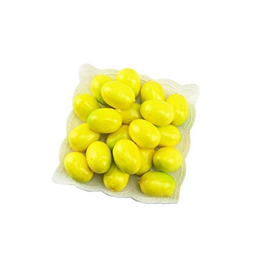 stücke Künstliche Mini Zitrone Dekor Gefälschte Obst Home Party Festival Dekoration Requisiten ()