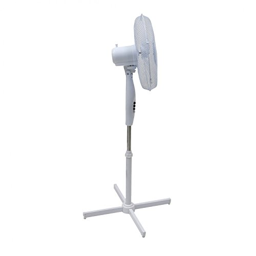 31HUk8QR9DL. SS500  - Generic Electrical 16-Inch Oscillating Pedestal Stand Fan - 3 Settings
