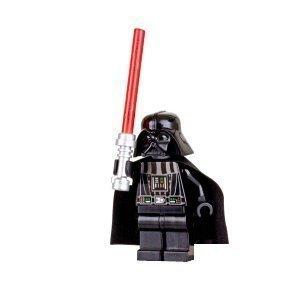 LEGO Star Wars - Minifigur Darth Vader mit rotem Laserschwert (Darth Vader Action-figur)