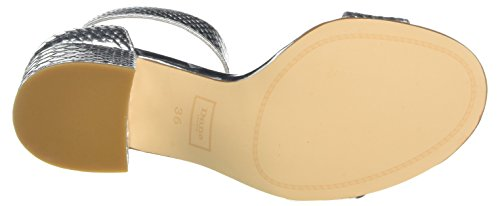 Dune Damen Jaygo Ankle Strap Heels Silber (Silver)