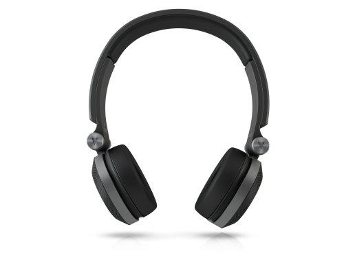JBL On-Ear Kopfhörer (leistungsstarke, mit drehbaren Ohrmuscheln (3D-Faltpunkte), geeignet für Apple iOS und Android Geräten) schwarz - 2