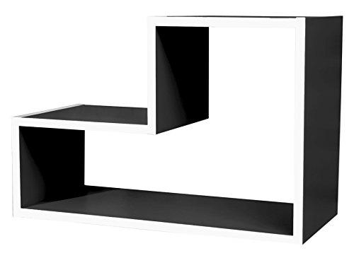Cribel-Lego-Moduli-Legno-Laccato-Nero-54x23x18-cm