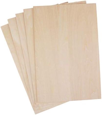 B Blesiya 5 Pcs / Set Set Set Bois Planche pour Bricolage Sable Table Modèle Matériaux De Construction Décoration De La Maison | Emballage élégant Et Robuste  2fd179