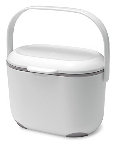 addis-25-litre-kitchen-compost-caddy-white-grey
