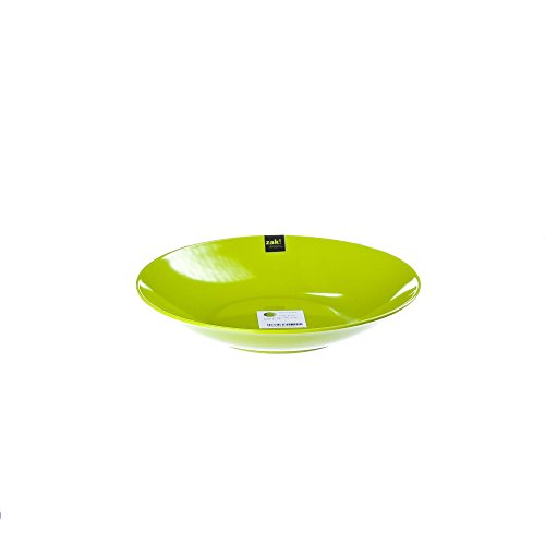 Zak Designs BBQ - Assiette Creuse - Ø 21 cm - Vert