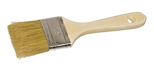 Color Expert 30025 Pinceau qualité professionnelle Industrie Manche bois naturel 25 mm