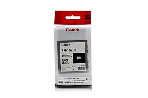 Galleria fotografica Cartuccia originale per Canon Imageprograf LP 17Canon pfi102bk, PFI-102BK 0895B001–, 0895B001AA, 895b001, 895b001aa–Premium per stampante laser–Nero–130ml
