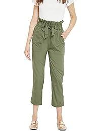 PANIT Women's Relaxed Fit Regular Pants