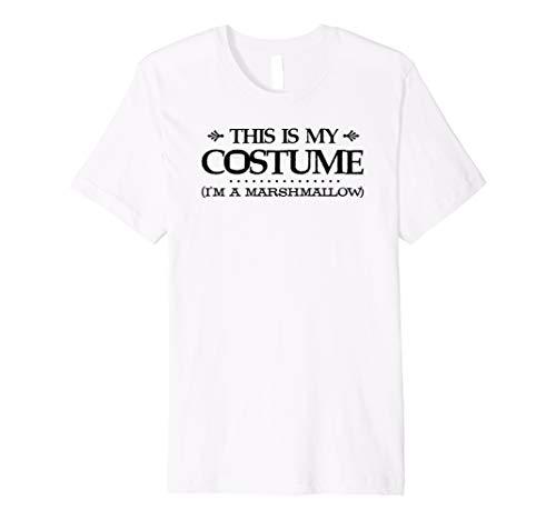 Dieses ist mein Kostüm (Marshmallow) Halloween-T-Shirt