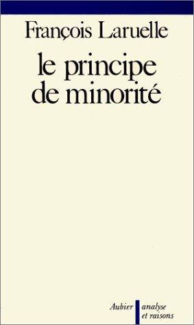 Le Principe de minorité