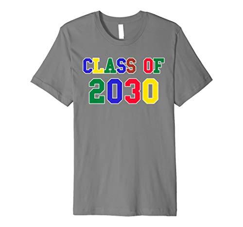 Class of 2030Cute Fun Kindergarten 5Jahre Old T-Shirt