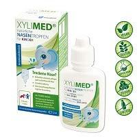 Kinder Nasenspray 22ml | Natürliches Xylit Nasenspray | Ideal als Schnupfenspray und gegen verstopfte Nase | Nasenspray Meersalz Alternative