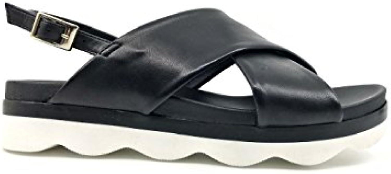 Tosca Blu S1817S743-C99 MILONGA Sandalo Donna Nero MainApps | Del Nuovo Di Arrivo  | Uomo/Donna Scarpa