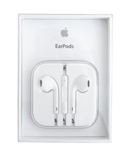 iPhone 5 5S 6 6S, SE Compatible EarPods Earphones/headphone W/Remote & with Mic  available at amazon for Rs.249