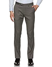 US Polo Association Men's Slim Fit Formal Trousers